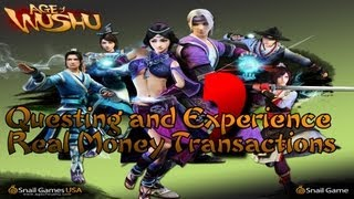Age of Wushu - #2 Questing, Experience Gain, and Real Money Transactions