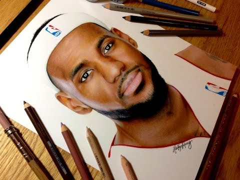 Painting Of Lebron James