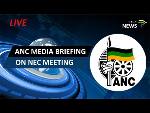 ANC media briefing on NEC meeting: 27 March 2017