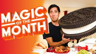 Food Tricks | MAGIC OF THE MONTH - November 2020