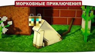 Опасные поиски КОТИКОВ!! 20 - Морковные приключения (Minecraft Let's Play)