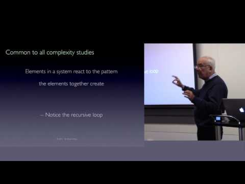 W. Brian Arthur - Complexity and the Economy