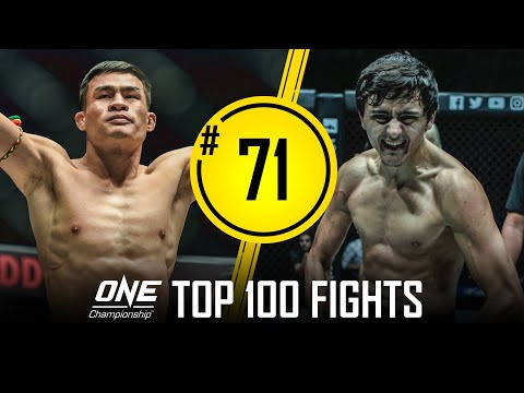 Saemapetch Fairtex vs. Alaverdi Ramazanov | ONE Championship's Top 100 Fights | #71