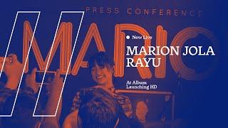 Gambar cover NEW LIVE Marion Jola - Rayu at Album Launching HD AUDIO