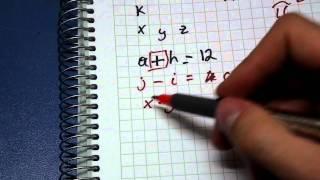 Matemáticas - ¿Qué es el Álgebra?