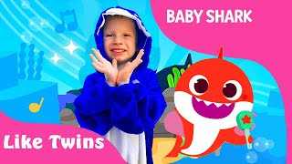Baby Shark, featuring Like Twins | Baby Shark Song | Pinkfong Songs for Children