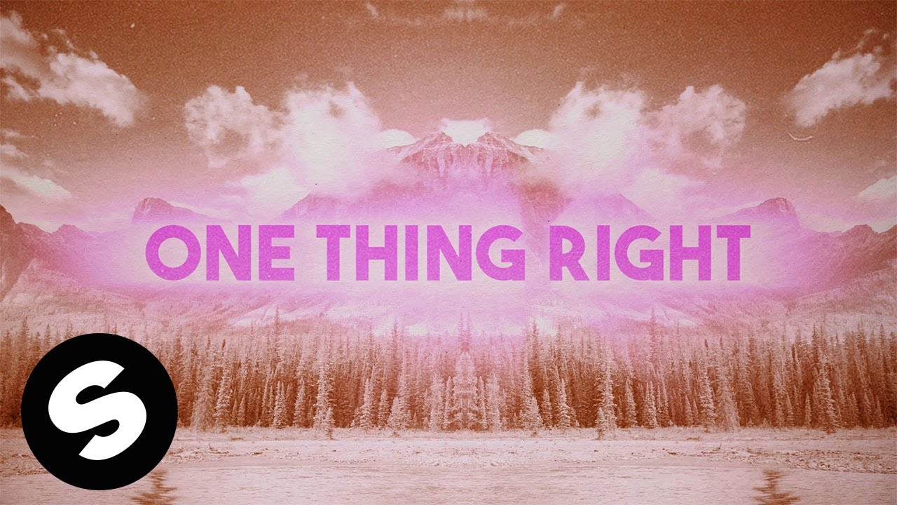 CALVO & Gigi - One Thing (Official Lyric Video)