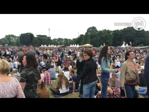 Goffertpark vol met fans Robbie Williams