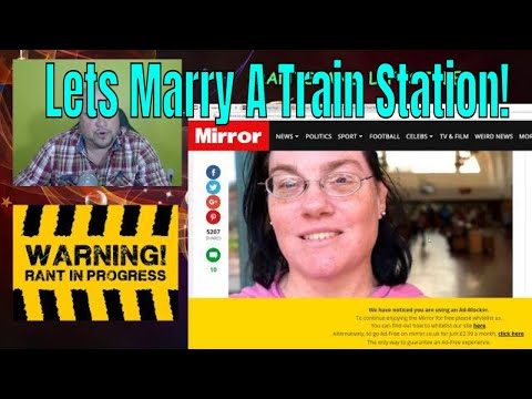 Rants And Lifestyle - Good House Wife's Guide', Woman 'marries' train station