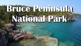 The Grotto, Bruce Peninsula National Park, Ontario Canada Treadmill Virtual Run - 1440p