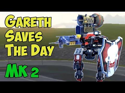 War Robots Best Mk2 Gareth Gameplay Moments - GAMECHANGER!
