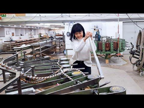 Building A Steinway Piano At Hamburg Factory   Tiffany Vlogs #96