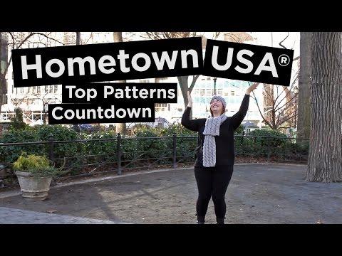 4 Most Popular Hometown USA® Knit & Crochet Patterns