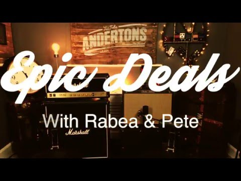 EPIC DEALS With Rabea & Pete - Fender Special Edition 72 Telecaster Thinline