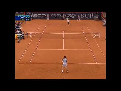 Terrible drop shot de Gaudio ante Coria - Hamburgo 2003 SF