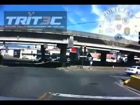 Persecución policial - Costa Rica Police chase