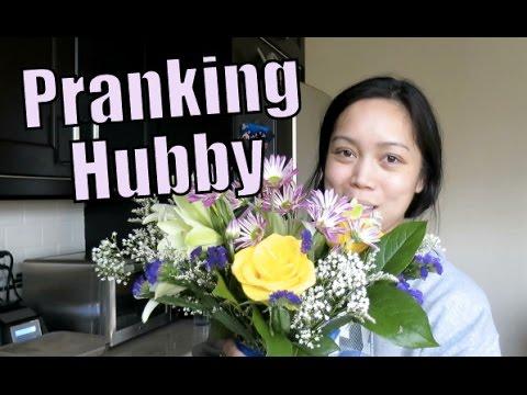 PRANKING HUBBY! - February 16, 2016 -  ItsJudysLife Vlogs