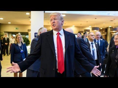 Trump's Davos speech – watch live