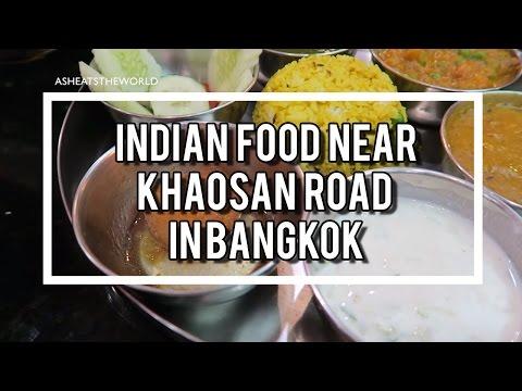 Indian Food near Khaosan Road in Bangkok