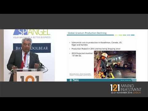 Presentation: Fission Uranium - 121 Mining Investment London November 2018