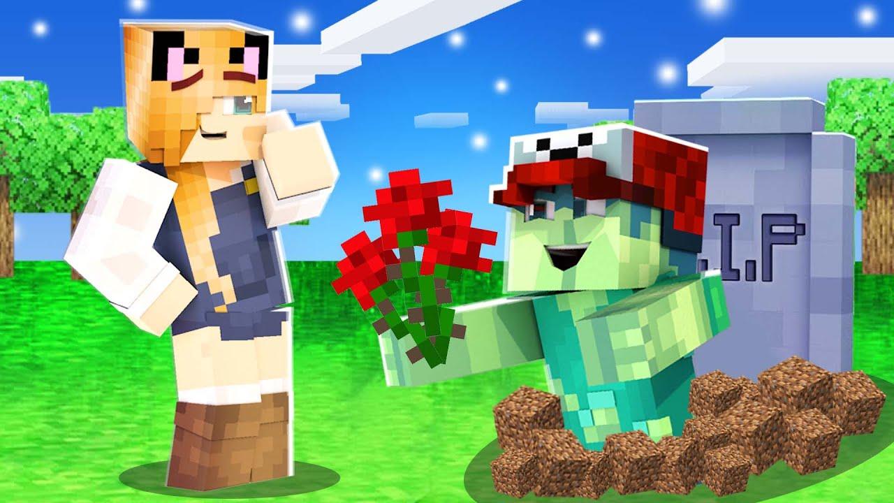 BELLA UMÓWIŁA SIĘ NA RANDKĘ Z ZOMBIAKIEM! (Minecraft Roleplay) | Vito i Bella
