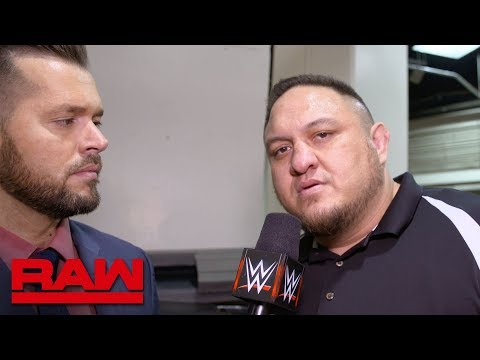 Samoa Joe on why he would be sent to SmackDown LIVE: Exclusive, April 16, 2018