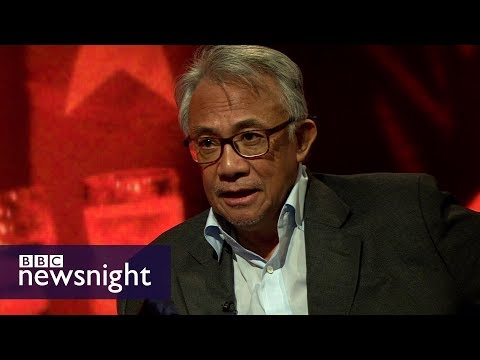 Entrepreneur Sir David Tang dies - Newsnight Archives (2016)