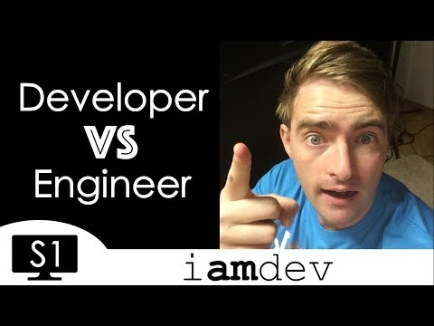 Differences Between a Software Developer and Software Engine