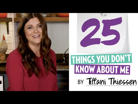 25 Things You Don't Know About Tifi Thiessen