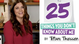 Tiffani Thiessen 25 Things You Don't Know About Me