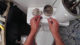 Tushy bidet attachment POV installation