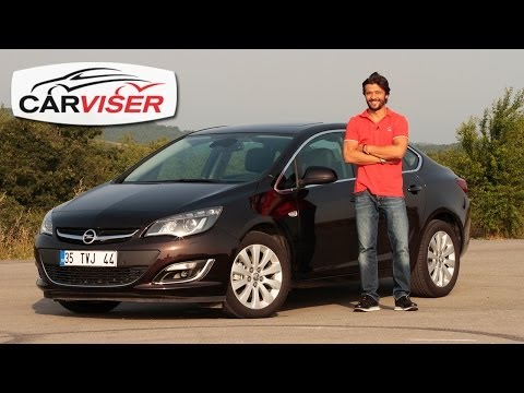 Opel Astra Sedan 1.6 CDTi Test Sr Review English subtitled