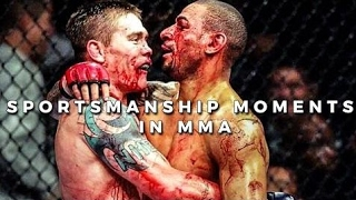 Respect and Sportsmanship Moments in MMA