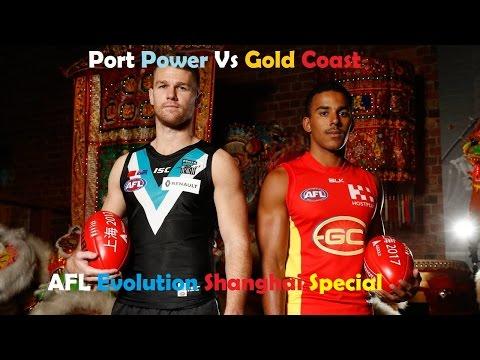 AFL Evolution: Port Adelaide vs Gold Coast