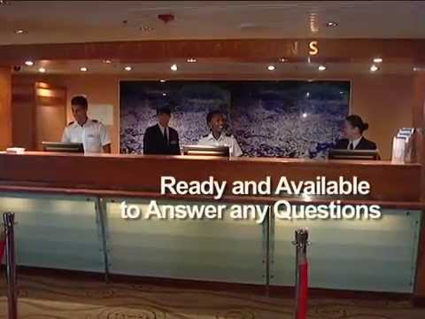 Guest Relations Services Onboard Advertisement