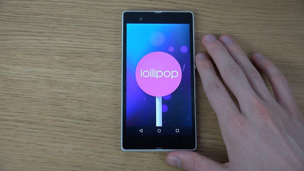 Linha Xperia Z é a única linha da Sony a receber Android Lollipop 1