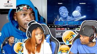 Flightreacts To Solluminati Flight L Reacts Drops a song ft  BlueFace! REACTION