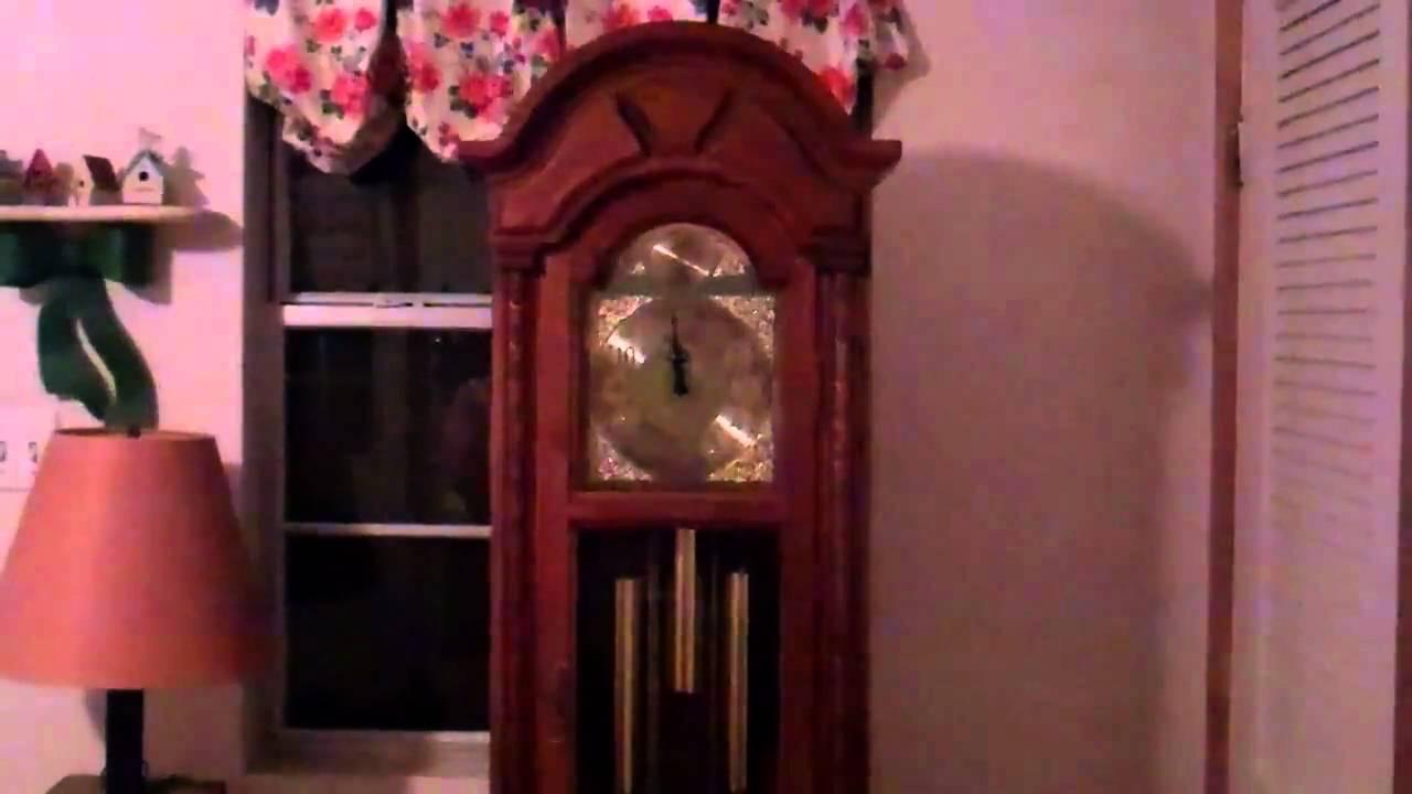 Seth Thomas Grandfather Clock YouTube