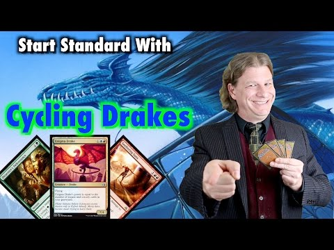 MTG - Start Playing Standard for $100 with Cycling Drakes for Magic: The Gathering
