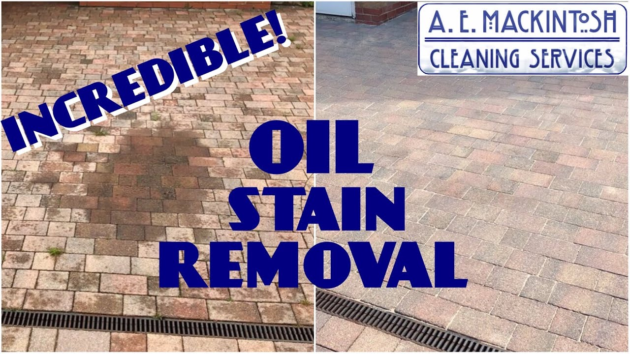 Oil Stain Removal From Block Paving