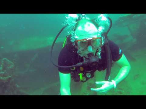 Aruba Diving - Antilla Shipwreck 2014