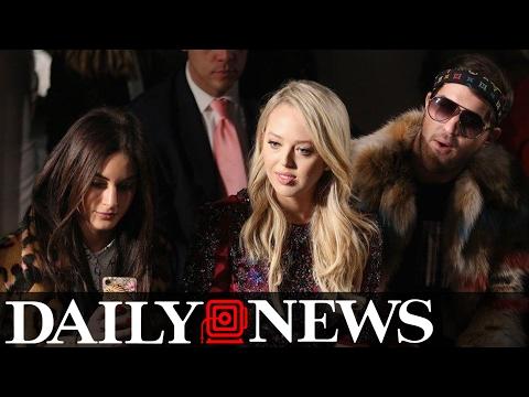 Tiffany Trump Happily Accepts Whoopi Goldberg's New York Fashion Week Invitation
