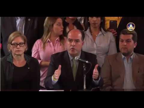 Julio Borges rueda de prensa con medios internacionales