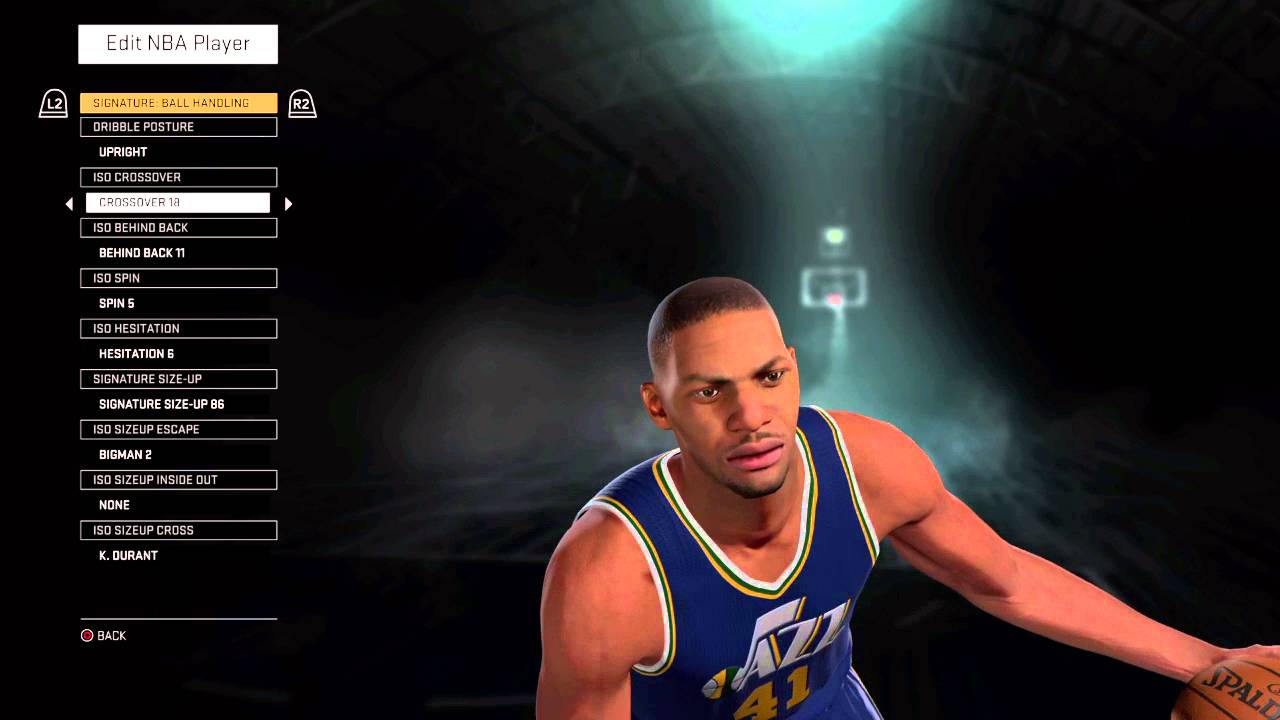 NBA 2K16 Thurl Bailey