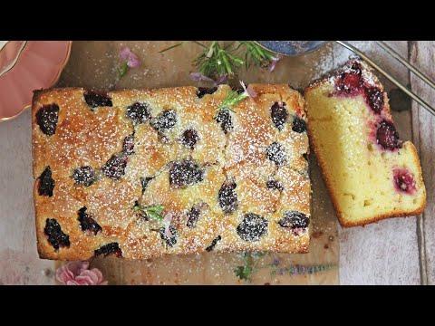 Blackberry Limoncello Cake