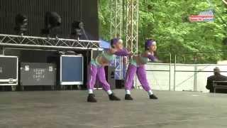 Helyi táncegyüttesek, zenekarok a majálison