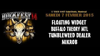 "BUCKFEST #14 - BUFFALO THEORY MTL ""Monstro"" live @ L"