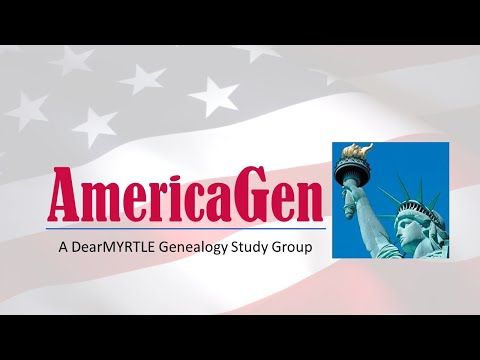 AmericaGen Study Group: Chapter 14 & 15 - Census Records