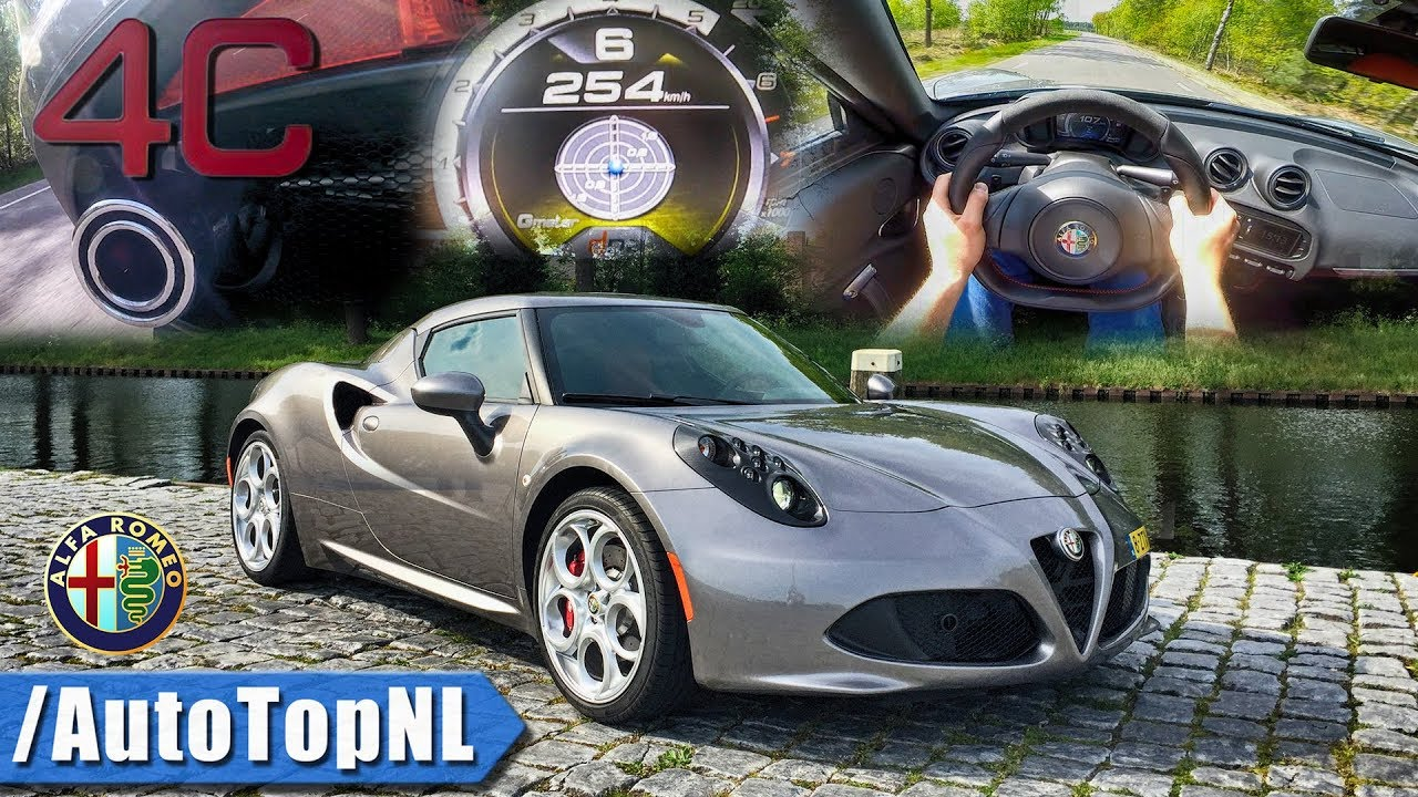 Alfa Romeo 4C Top Speed >> Alfa Romeo 4c Pov Exhaust Sound Drive Acceleration Top Speed Autobahn By Autotopnl