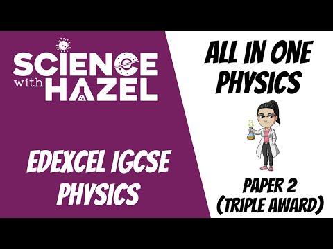 ALL of Edexcel IGCSE Physics 9-1 | PAPER 2 (2021)| IGCSE Physics Revision | SCIENCE WITH HAZEL